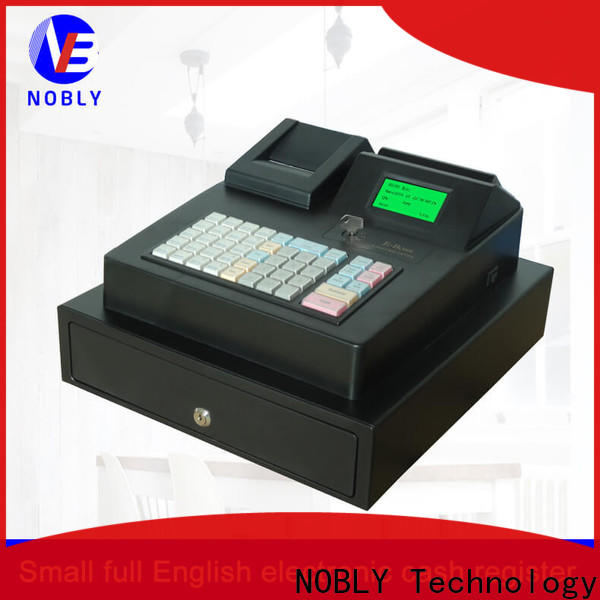 NOBLY Technology electronic metal cash box certifications for wineshop
