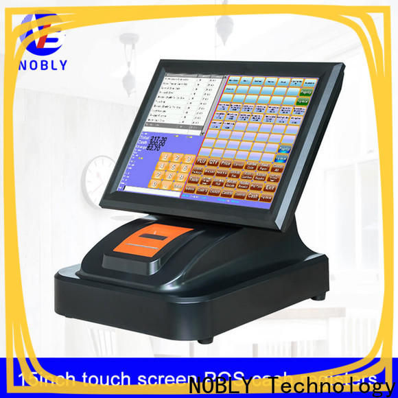 NOBLY Technology 15 inch simple touch screen cash register calibration for wineshop