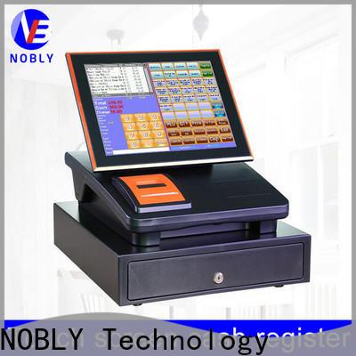 NOBLY Technology touch restaurant cash register marketing for shop