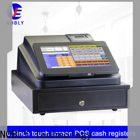 NOBLY Technology touch best cash register certifications for F&B catering