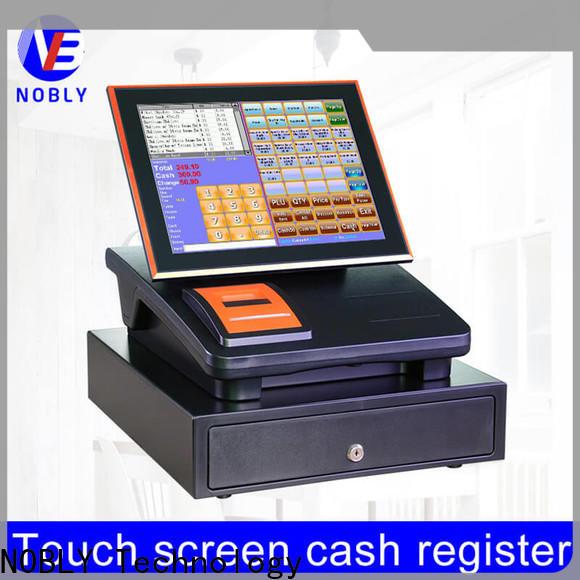 NOBLY Technology capacitive restaurant cash register for retail business