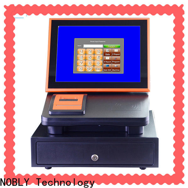 NOBLY Technology capacitive sharp electronic cash register China for F&B catering