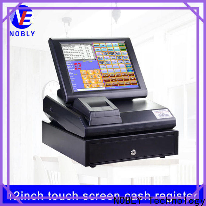 NOBLY Technology touch retail cash register for convenience store