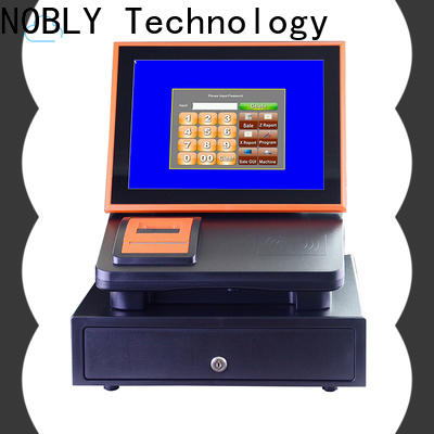 NOBLY Technology standard sharp electronic cash register assurance for coffee shop