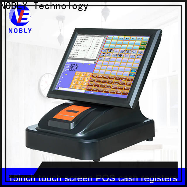 NOBLY Technology smooth operation cheap cash registers for small business calibration restaurant