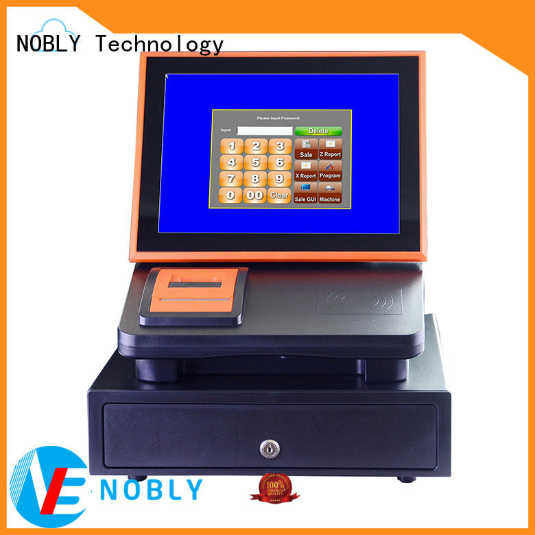 high stability sharp electronic cash register touch resources for single-store