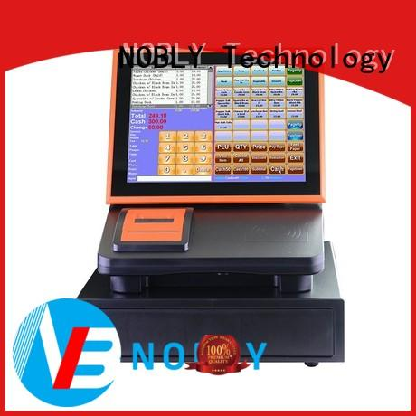 reliable 12 inch simple touch screen cash register system for sale for small businessb