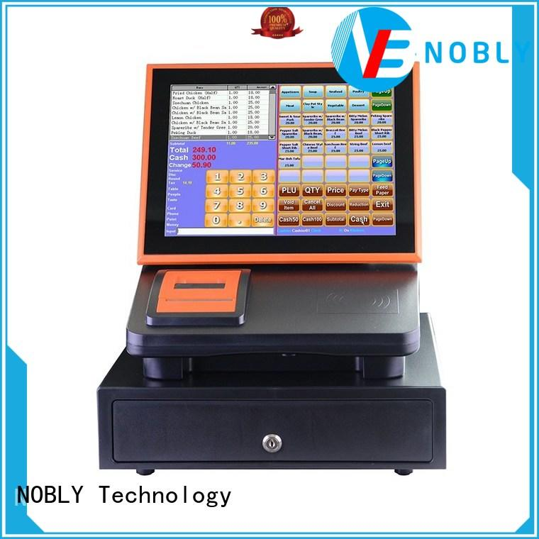NOBLY 12 inch touch screen cash register C86C simple POS system