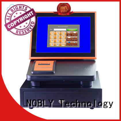 portable cash register management nobly 12 inch cloud touch screen cash register NOBLY Technology Brand