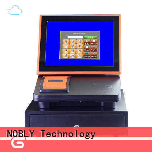 excellent 12 inch cloud touch screen cash register internet China for coffee shop
