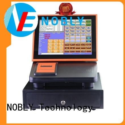 NOBLY Technology high stability retail cash register for-sale for small businessb
